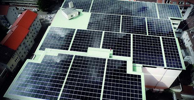 Solar enerji çatı uygulaması