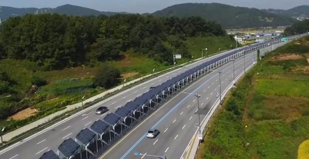 solar bisiklet yolu